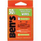 BEN'S 30 WIPES 4 PIECE TRAVEL PACK