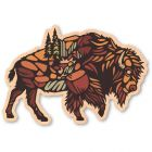 WOODSTICKER BUFFALO ROAM STICKER
