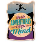 WOODSTICKER SEEK ADVENTURE STICKER