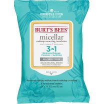 BURT'S BEES MICELLAR CLEANSING TOWELETTES COCONUT LOTUS 30CT